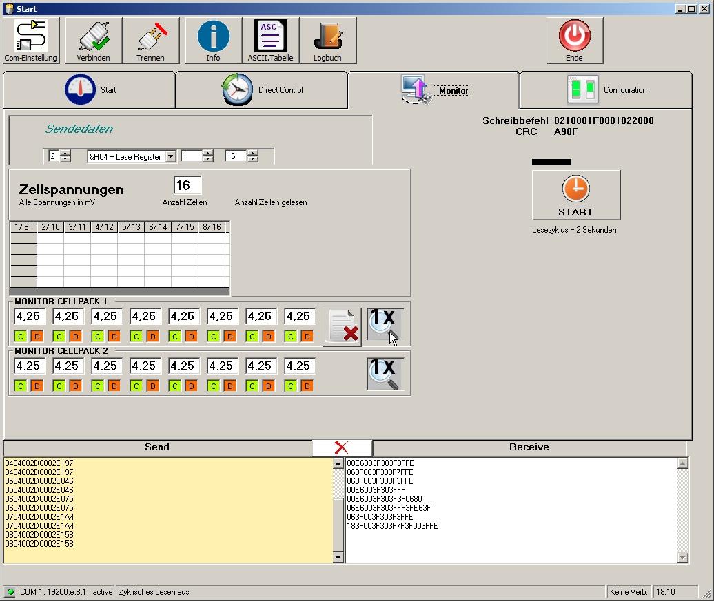 Screenshot MOTRON BatteryMonitor