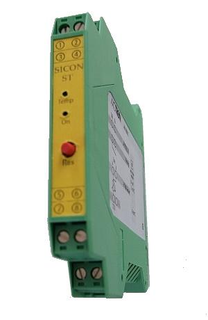 Sicherheitscontroller SICON ST überwacht die Temperatur