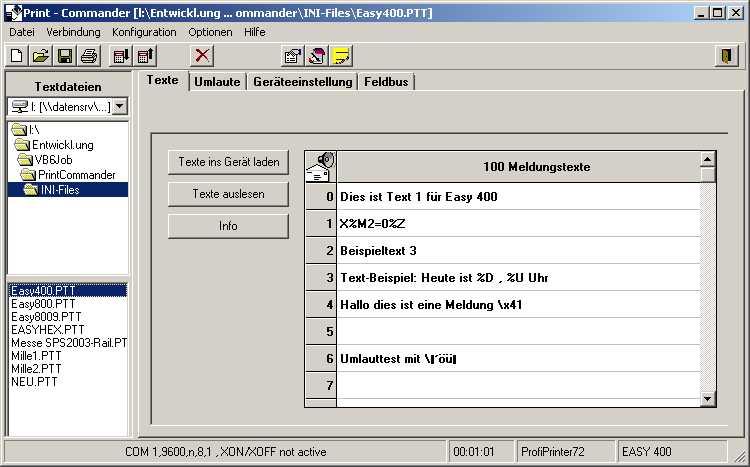 Screenshot PrintCommander